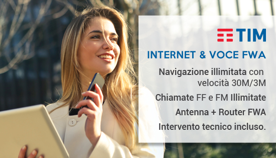 Internet e voce FWA