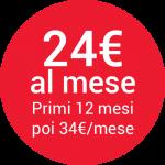 24€ al mese